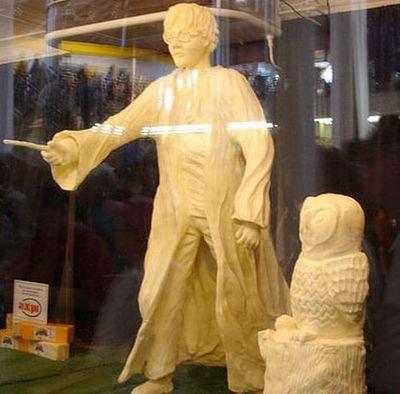 バター彫刻06