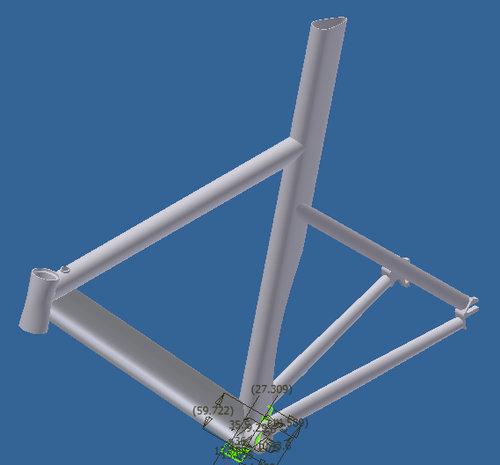 妻のために自転車を作った02