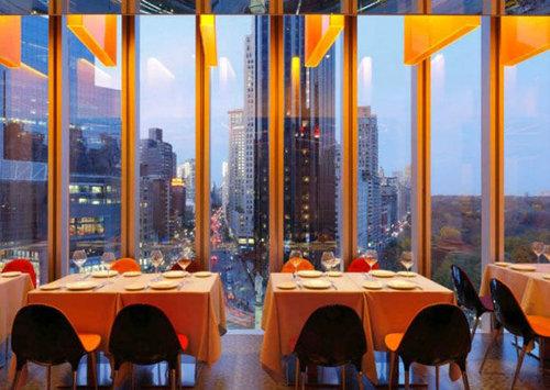 世界の絶景レストラン40