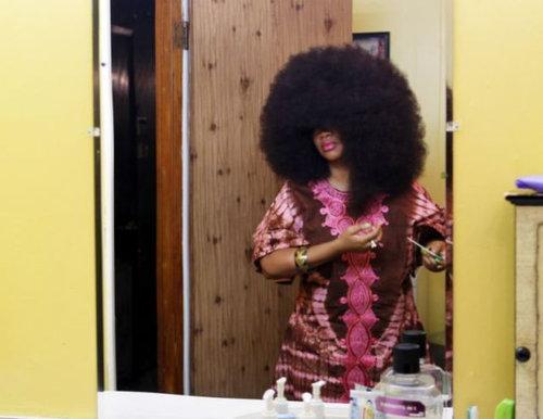 世界一のアフロ女性03
