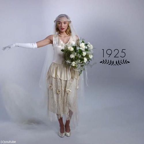 ウェディングドレスの変化02