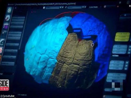 3Dプリンターで亀の甲羅を修復00