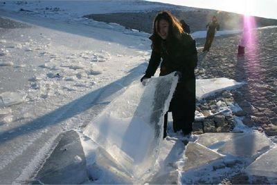 凍りついたミシシッピ川05