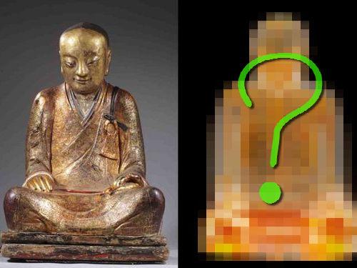 仏像をスキャンしたらミイラ発見00