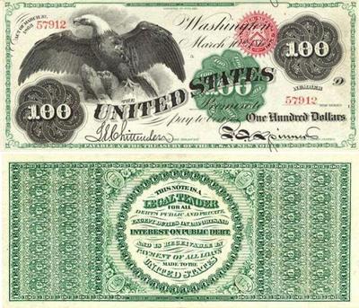 100ドル札 10-1862