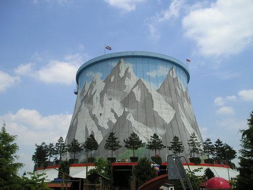 カルカー遊園地の壁01