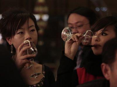 中国のワイン人気00
