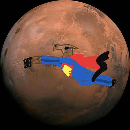 最もクリアーな火星の画像02
