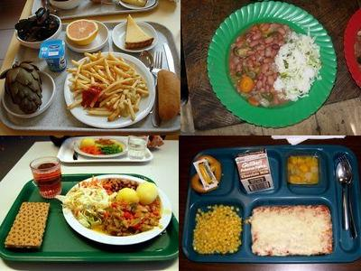 世界の学校給食