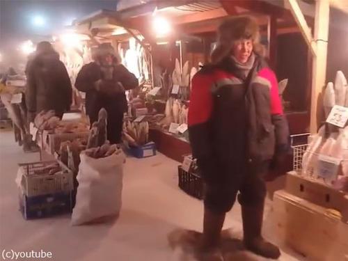 シベリアの魚市場が別世界00