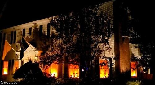 ハロウィンで火災の演出がリアルすぎて通報される01