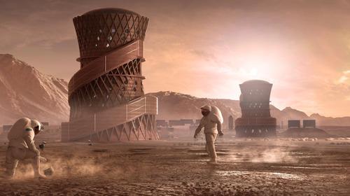 火星の住居デザイン01