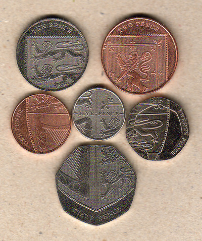 イギリスの貨幣01