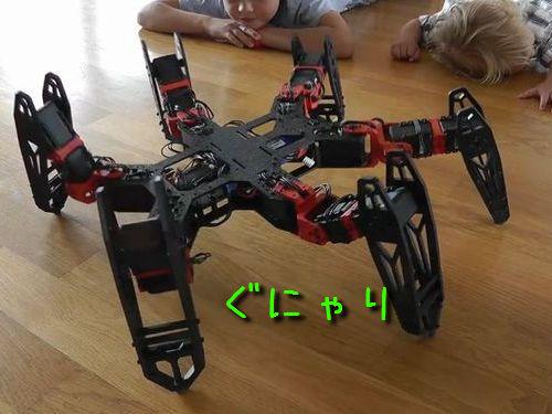 6本足ロボットPhantomX