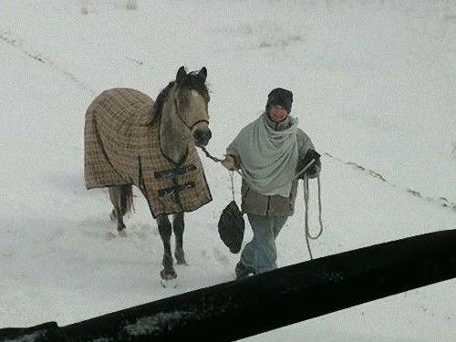 18歳少女が馬でコーヒーやシチューを運んできてくれた00