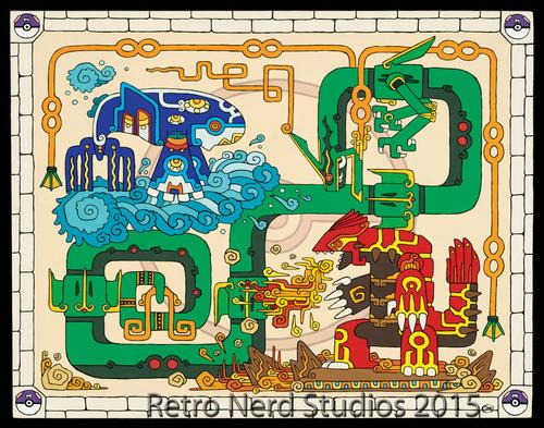 「マヤ文明」風のポケモン06