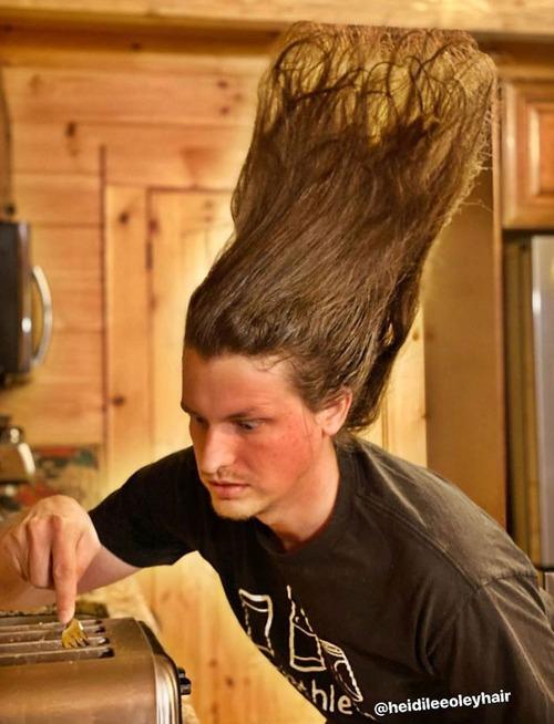 長髪な彼氏のヘアスタイルを魔改造07