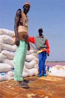 セネガルのレトバ湖09