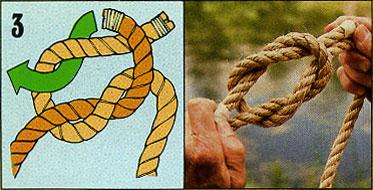 ロープの結び方03