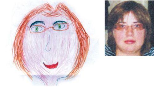 お母さんの似顔絵18