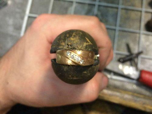 結婚指輪の修復17