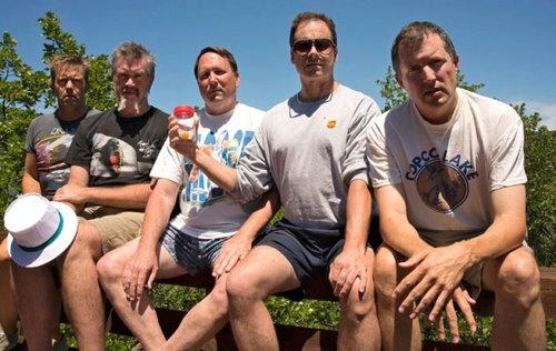 5人組が5年ごとに30年同じ写真07