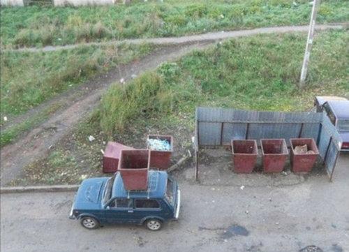 違法駐車08