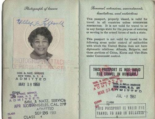 歴史上の有名人のパスポート10