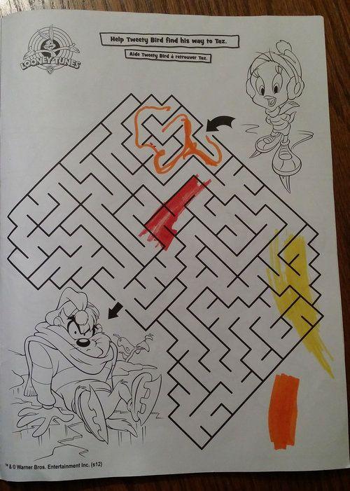 5歳の娘の迷路04