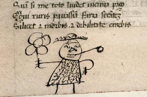 中世ヨーロッパの落書き01
