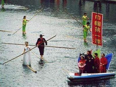 竹1本で川下り00