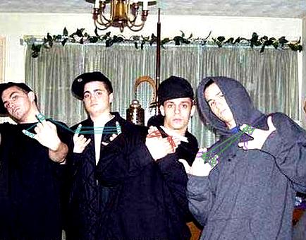ギャングのハンドサイン02