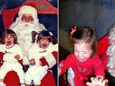 サンタクロースが怖い01