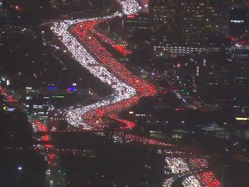 ロサンゼルスの渋滞02