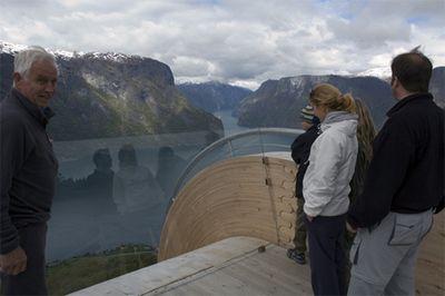 ノルウェーの展望台09