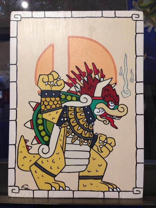 「マヤ文明」風のポケモン01