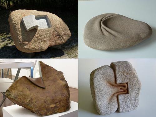 この石の彫刻はどうやって作ったのだろう01