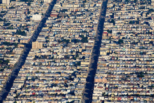 上空から見た都市27