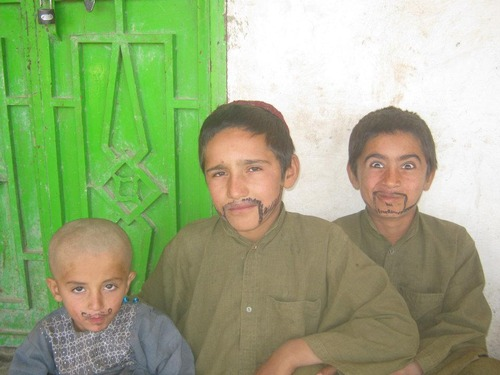 アフガニスタンにサインペン01