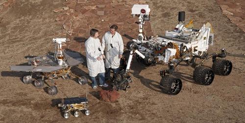 火星探査のローバー03