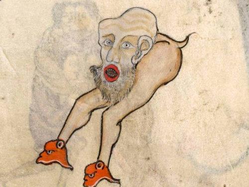 中世の本の挿絵13