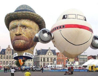 奇抜なデザインをした世界のおもしろ気球03