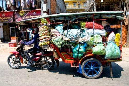 バイクで物を運ぶ限界21