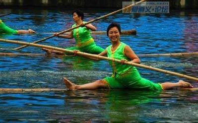 竹1本で川下り04