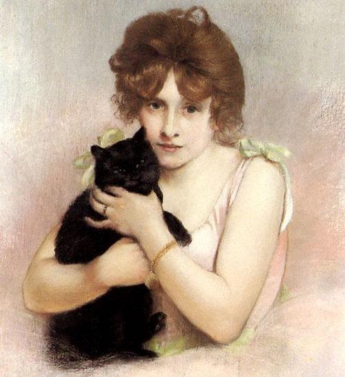 有名画家の描いた猫10
