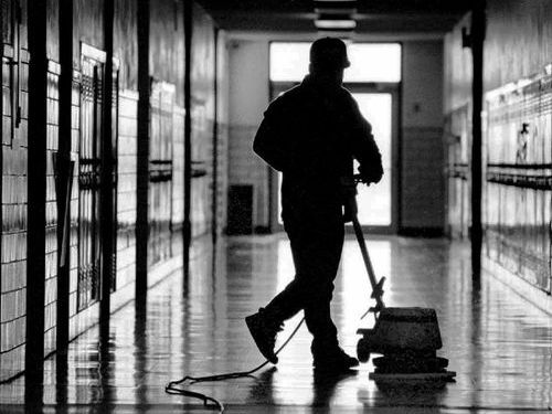 学校の掃除