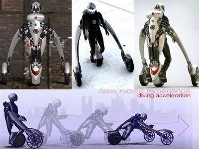変形・装着するバイクTOP