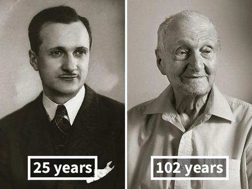 100歳越えの人の若い頃02