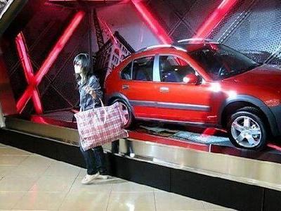 中国女性のバッグ00