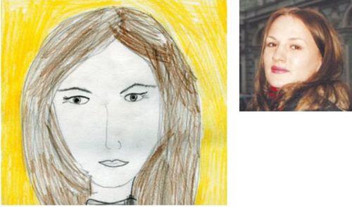 お母さんの似顔絵11